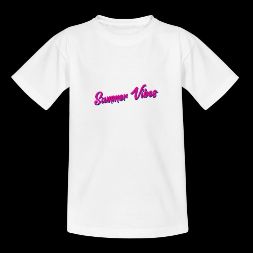 Summer Vibes - Teenager T-Shirt