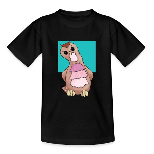 Uiltje is niet overtuigd - Teenager T-shirt