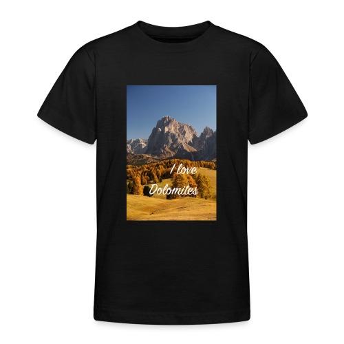 Langkofel - Wahrzeichen Südtirols - Teenager T-Shirt