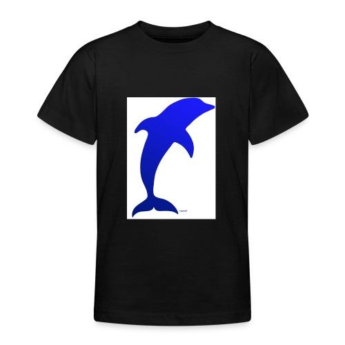 Dauphin Bleu - T-shirt Ado