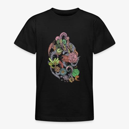 Flower Power - Rough - T-shirt tonåring