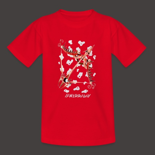 Sagittaire Négutif - T-shirt Ado