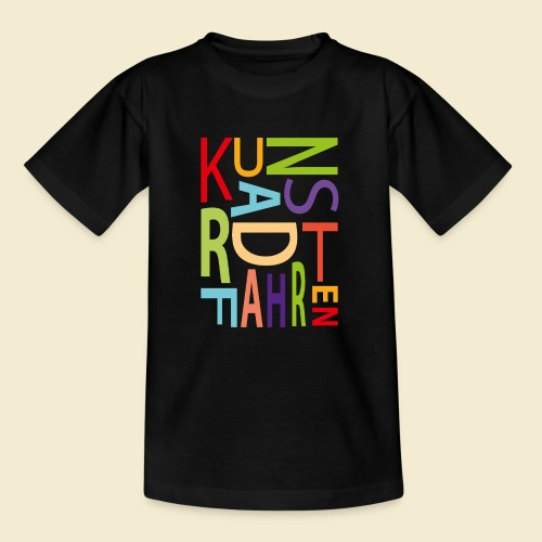 Kunstrad | Kunstradfahren color - Teenager T-Shirt