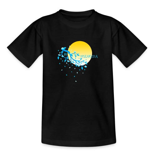 Cherry Blossom Festval Full Moon 2 - Teenager T-Shirt