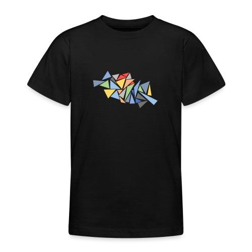 Modern Triangles - Teenage T-Shirt