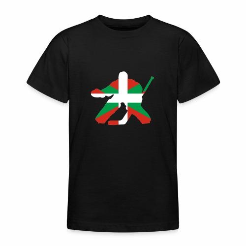 goalie et basque - T-shirt Ado