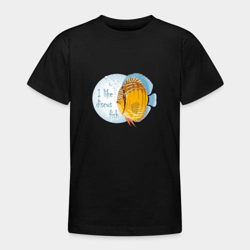 GHB Ich liebe Diskusfische 06112017 1 - Teenager T-Shirt