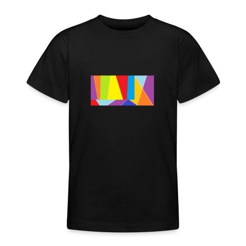 coler full emblem with black bakround - T-shirt tonåring