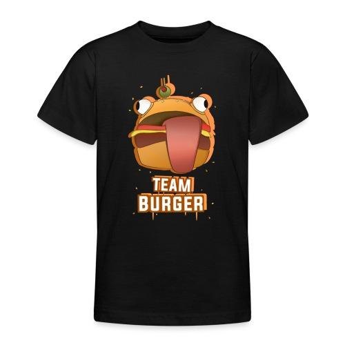 Team burguer - Camiseta adolescente