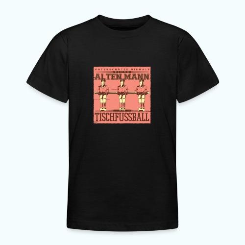 Tischfussball Freunde - Teenage T-Shirt