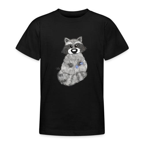 Waschbär - Teenager T-Shirt