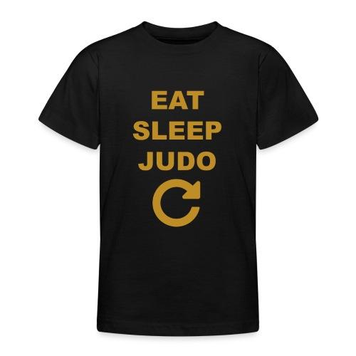 Eat sleep Judo repeat - Koszulka młodzieżowa