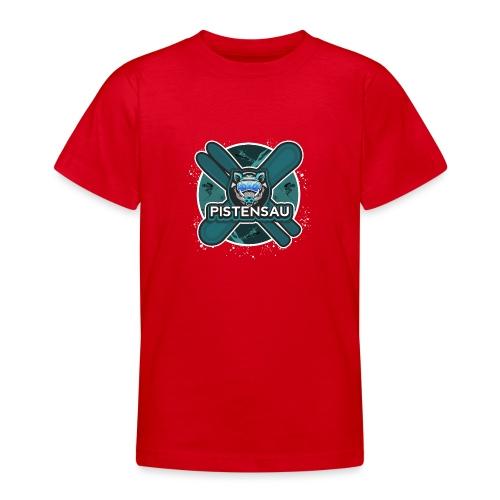 PistenSau Nervenkitzeljägergrün - Teenager T-Shirt