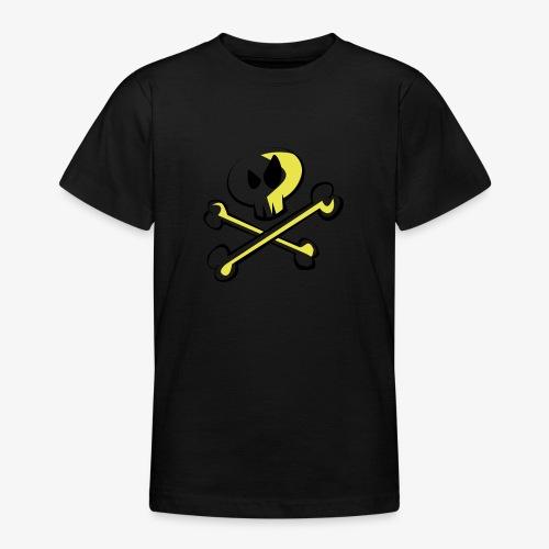 Cartoon Skull - Teenager T-Shirt