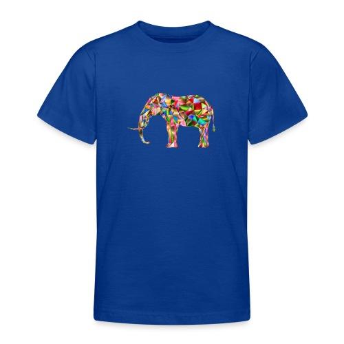 Gestandener Elefant - Teenager T-Shirt