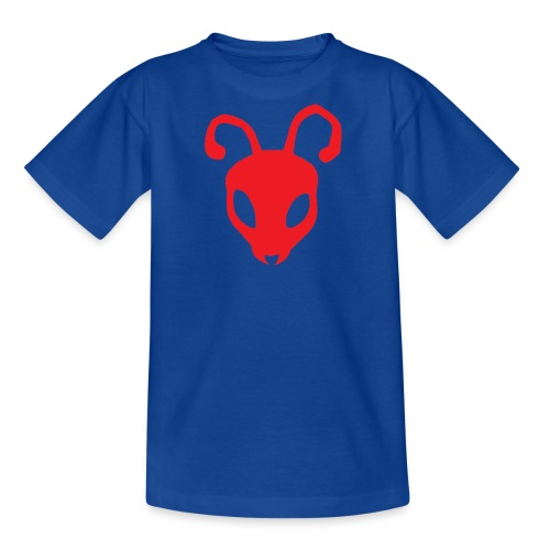 ANTBOY LOGO rød u tekst - Teenager-T-shirt