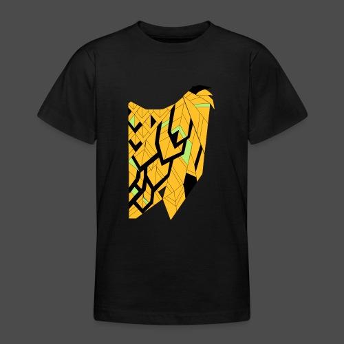 Owl Colour Redraw - Teenage T-Shirt