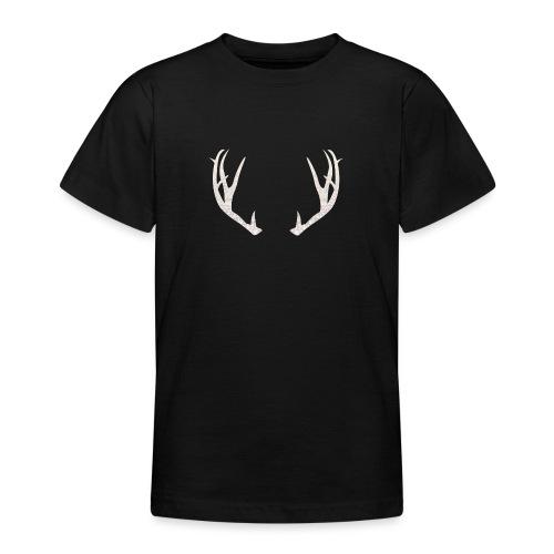 Jäiset poronsarvet - Nuorten t-paita