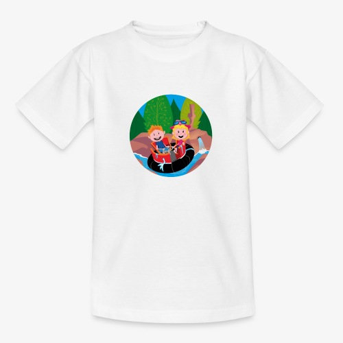 Themepark: Rapids - Teenager T-shirt