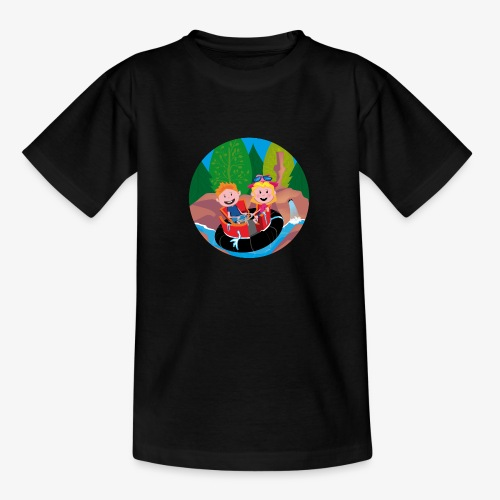 Themepark: Rapids - Teenager T-shirt