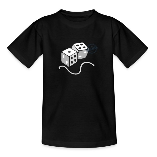 Dice - Symbols of Happiness - Teenage T-Shirt