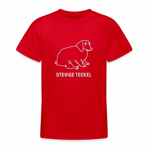 Stevige Teckel - Teenager T-shirt