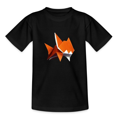 Jumping Cat Origami - Cat - Gato - Katze - Gatto - Teenage T-Shirt