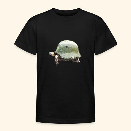 TORTUGA CASCO MILITAR - Camiseta adolescente