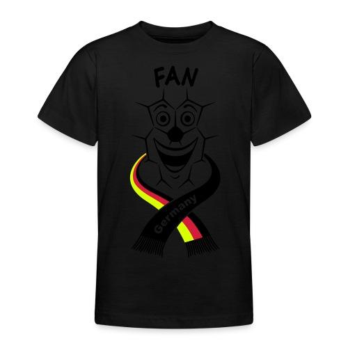 fan schal m bk 14 cut - Teenager T-Shirt