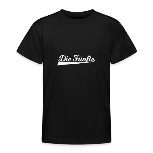 Die Fünfte Retro - Weiß - Teenager T-Shirt