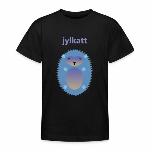 Blå Jylkatt Bornholmsk ord - Teenager-T-shirt