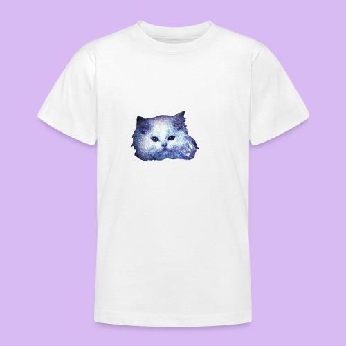 Gatto glitter - Maglietta per ragazzi