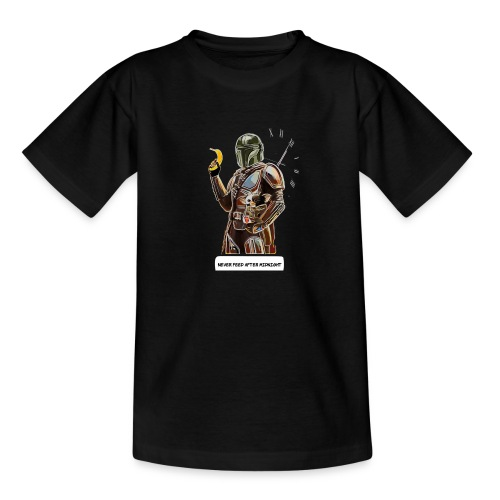 Never Feed After Midnight - Teenage T-Shirt