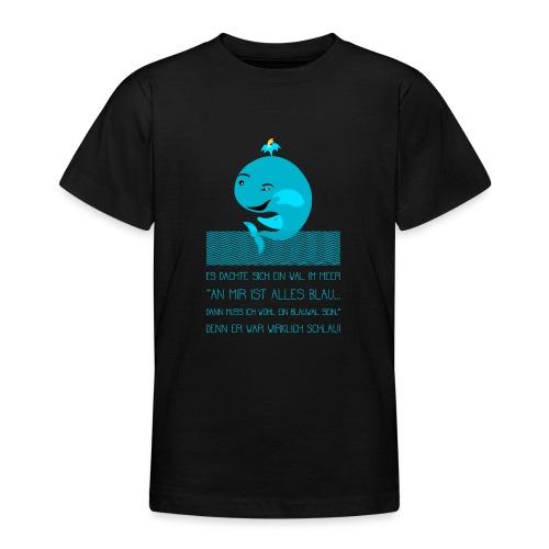 Blauwal - Teenager T-Shirt