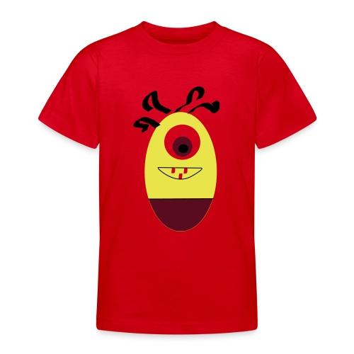 Gult æg - Teenager-T-shirt