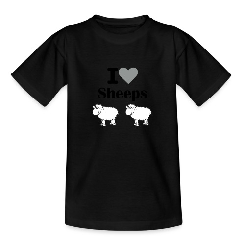 I-love-sheeps - T-shirt Ado