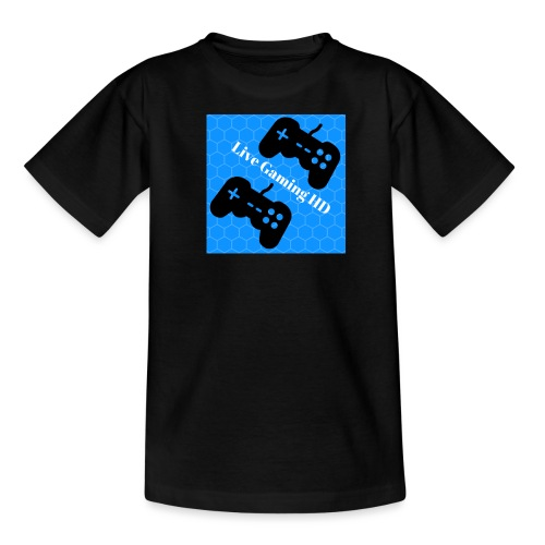 Live Gaming HD Higher Res png - Teenage T-Shirt