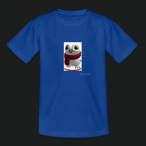 Merch white snow owl - Teenager T-shirt