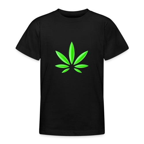 T-Shirt Design für Cannabis - Teenager T-Shirt
