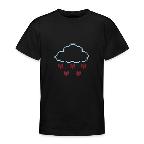 Wolke Pixelherz - Teenager T-Shirt