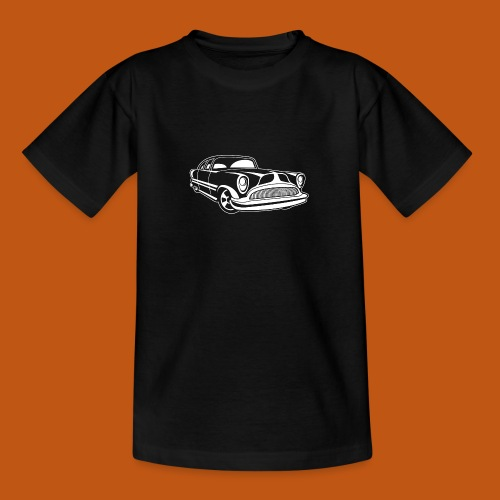 Lowrider / Oldtimer / Muscle Car 03_weiß - Teenager T-Shirt