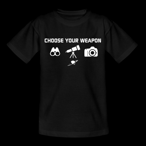 Choose your weapon - T-shirt Ado
