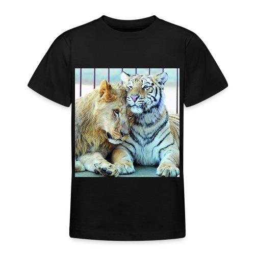 lejontiger - T-shirt tonåring