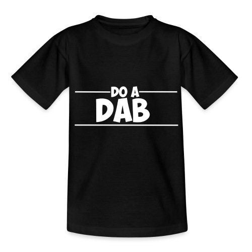 Dab White png - Teenage T-Shirt