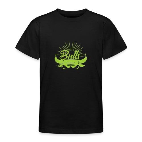 Toros verdes, Bulls BasketBall deporte - Camiseta adolescente