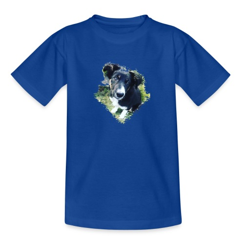 colliegermanshepherdpup - Teenage T-Shirt