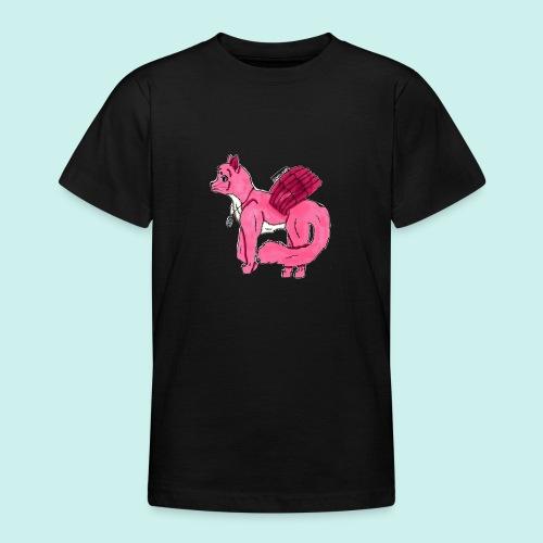 pink_cat_ei_taustaa - Nuorten t-paita