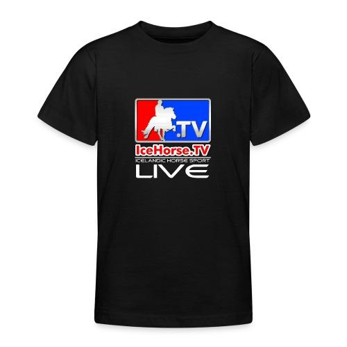 IceHorse logo - Teenage T-Shirt
