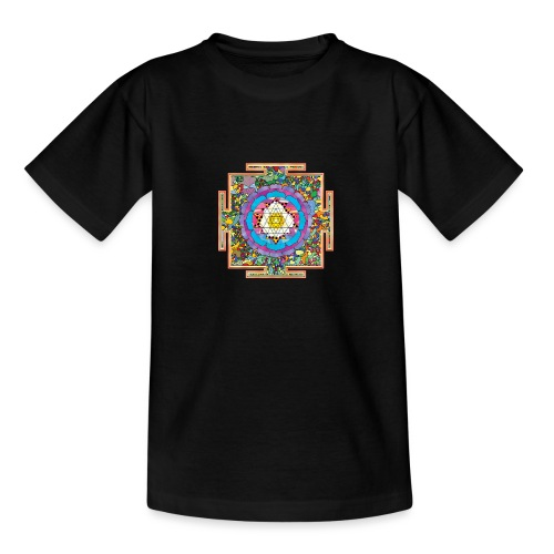 buddhist mandala - Teenage T-Shirt