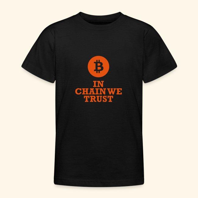 Bitcoin: In chain we trust